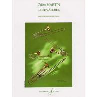 MARTIN G. MINIATURES TROMBONE
