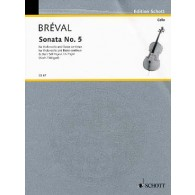BREVAL J.B. SONATE G MAJOR VIOLONCELLE