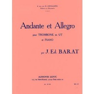 BARAT J. ANDANTE ET ALLEGRO TROMBONE