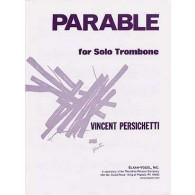 PERSICHETTI V. PARABLE TROMBONE SOLO