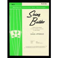 APPLEBAUM STRING BUILDER VOL 1 ALTO ELEVE