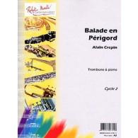CREPIN A. BALLADE EN PERIGORD TROMBONE