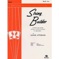 APPLEBAUM STRING BUILDER VOL 2 ALTO ELEVE