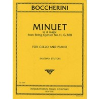 BOCCHERINI L. MINUET  A MAJOR VIOLONCELLE