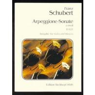 SCHUBERT F. SONATE ARPEGGIONE ALTO