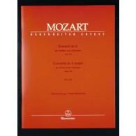 MOZART W.A. CONCERTO KV 219 VIOLON