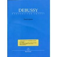 DEBUSSY C. POUR LE PIANO