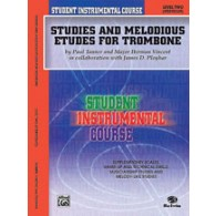 TANNER / WEBER STUDIES AND MELODIOUS ETUDES VOL 2 TROMBONE