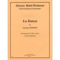 ROSSINI G. LA DANZA FLUTE