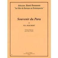REICHERT M.A. SOUVENIR DU PARA FLUTE