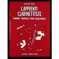 HUE S. L'APPRENTI CLARINETTISTE VOL 2
