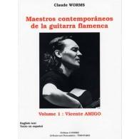 AMIGO V. MAESTROS CONTEMPORANEOS GUITARRA FLAMENCA 1