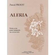 PROUST P. ALERIA TROMPETTE OU CORNET SOLO