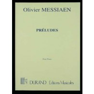 MESSIAEN O. PRELUDES PIANO