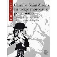 SAINT-SAENS C. MORCEAUX PIANO