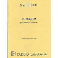 BRUCH M. CONCERTO OPUS 26 VIOLON