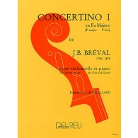 BREVAL J.B. CONCERTINO N°1 VIOLONCELLE
