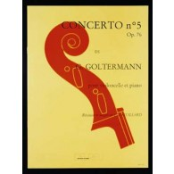 GOLTERMANN G. CONCERTO N°5 RE MINEUR VIOLONCELLE