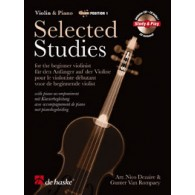 DEZAIRE/ROMPAEY SELECTED STUDIES VIOLON 1