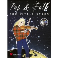 POP & FOLK FOR LITTLE STARS VIOLON