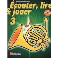 ECOUTER LIRE JOUER VOL 3 COR
