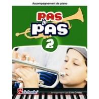 KASTELEIN J. PAS A PAS VOL 2 TROMPETTE ACCCOMPAGNEMENT PIANO