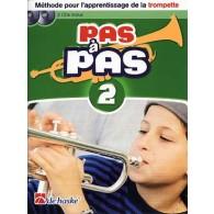 KASTELEIN J. PAS A PAS VOL 2 TROMPETTE