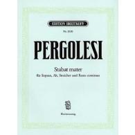 PERGOLESE G.B. STABAT MATER CHANT