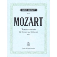 MOZART W.A. KONZERT-ARIEN VOL 1 SOPRANO