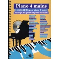 PIANO A 4 MAINS 33 MELODIES