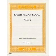 FIOCCO J.H. ALLEGRO VIOLON