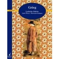 GRIEG E. MORCEAUX LYRIQUES PIANO