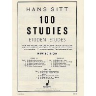 SITT H. 100 STUDIES OPUS 32 VOL 4 VIOLON