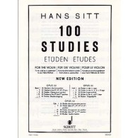 SITT H. 100 STUDIES OPUS 32 VOL 5 VIOLON