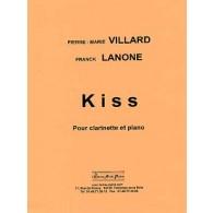 VILLARD P.M./LANONE F. KISS CLARINETTE