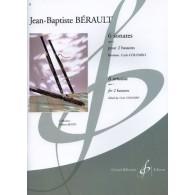 BERAULT J.B. 6 SONATES OP 1 POUR 2 BASSONS