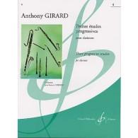 GIRARD A. PETITES ETUDES PROGRESSIVES VOL 4 CLARINETTE