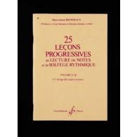 BOURDEAUX M.J. 25 LECONS PROGRESSIVES VOL 4B