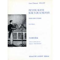 JOLLET J.C. PETITE SUITE SUR 5 OU 6 NOTES COR