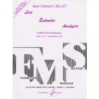 JOLLET J.C. LIRE ENTENDRE ANALYSER VOL 1