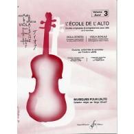 LAINE F. ECOLE DE L'ALTO VOL 3