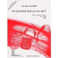 ALLERME J.M. DU SOLFEGE SUR LA FM 440.7 CHANT PROFESSEUR
