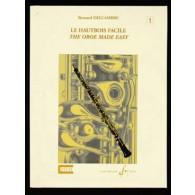 DELCAMBRE B. LE HAUTBOIS FACILE VOL 1
