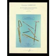 GARIBOLDI G. 20 ETUDES CHANTANTES FLUTE