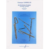 GARIBOLDI G. 20 PETITES ETUDES OP 132 FLUTE