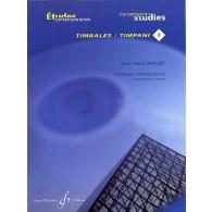 DROUET J.P. 18 ETUDES PROGRESSIVES VOL 3 TIMBALES