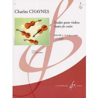 CHAYNES C. ETUDES POUR VIOLON VOL 2