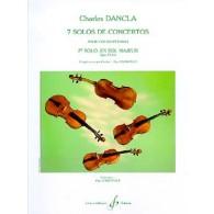 DANCLA C. 2ME SOLO DE CONCERTO OP 77 N°2 VIOLON