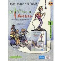 ALLERME J.M. DE L'ELEVE A L'ARTISTE VOL 1 PROFESSEUR
