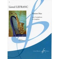 LEFRANC L. BOSTON BLUE 4 SAXOS